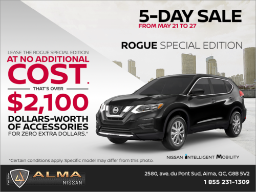 Get the 2019 Rogue Today!