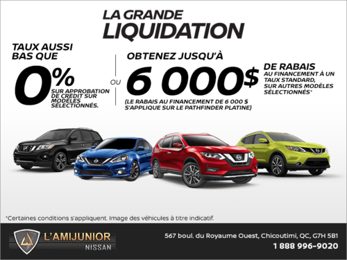 La grande liquidation Nissan