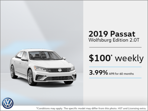 Lease the 2019 Passat!