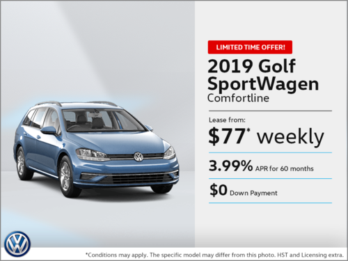 Get the 2019 Golf!