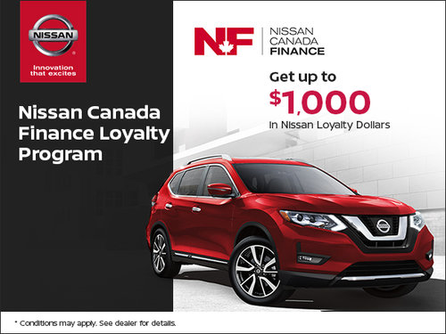 Nissan Canada Loyalty Program