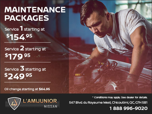Our Maintenance Packages