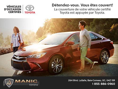 Certifiés Toyota