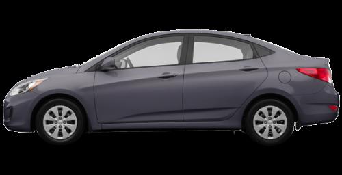 Hyundai Accent Sedan 2017 Black