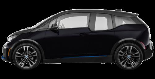 Noir fluide surhaussé de Bleu Givré BMW i