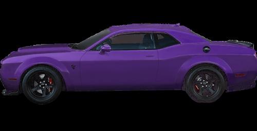 Couche nacrée Violet prune