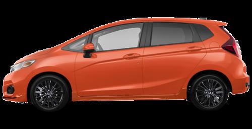 Deragon montreal new 2018 honda fit sport sensing for for Orange honda fit