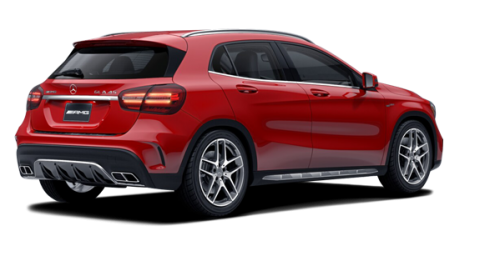 mercedes benz gla 45 amg 4matic 2018 groupe mierins en ontario. Black Bedroom Furniture Sets. Home Design Ideas