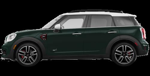 Vert voiture de course métallique