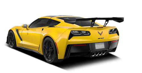 Teinte jaune Corvette Racing
