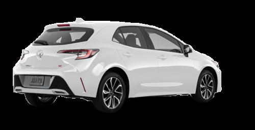 White Toyota Corolla >> Edmundston Toyota New 2019 Toyota Corolla Hatchback Se