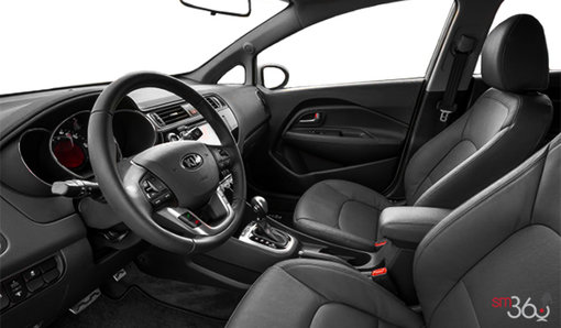 Aubé Kia   New 2017 Kia Rio 5-door SX navigation for sale in
