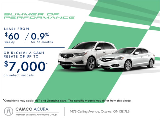acura monthly event mierins automotive group promotion in ontario