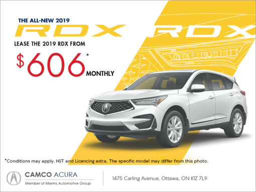 2019 Acura Rdx Mierins Automotive Group Promotion In Ontario