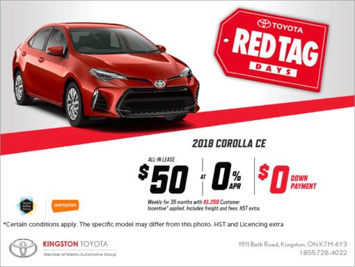 The 2018 Toyota Corolla