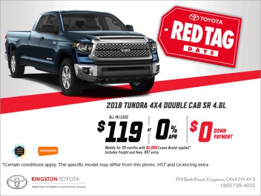 The 2018 Toyota Tundra
