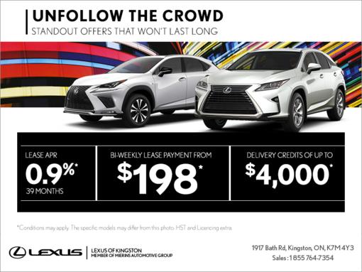 Unfollow the Crowd Lexus event!