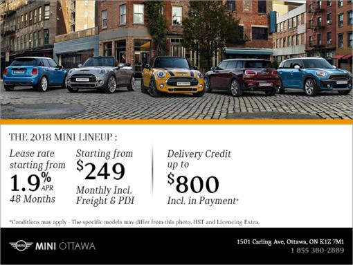 MINI's Monthly Sales Event