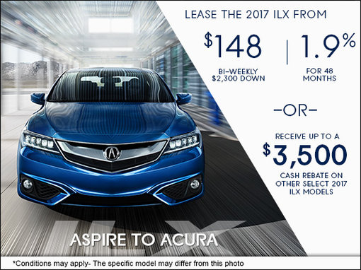 drive home the 2017 acura ilx today mierins automotive group