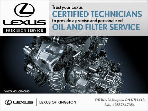 Trust your Lexus certified technicians!