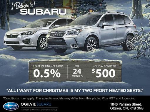 I Believe in Subaru Sales Event