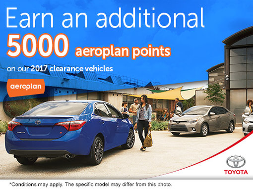 Earn an Extra 5,000 Aeroplan Points!