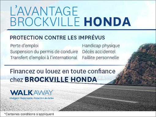 L'avantage Brockville Honda