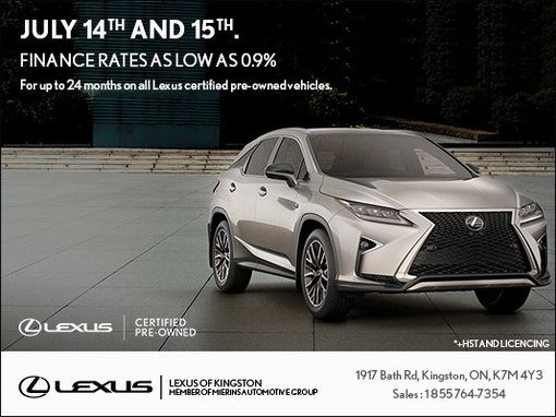 Save On Lexus Certified PreOwned Vehicles Lexus Of Kingston - Lexus is preowned