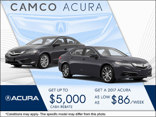 get a new acura at camco acura camco acura promotion in ottawa