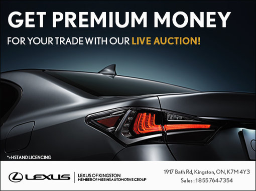 Participate in our live auction