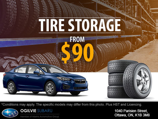 Store Your Tires
