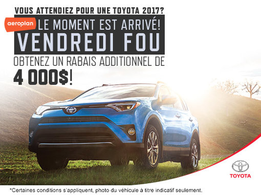 Vendredi Fou chez Kingston Toyota!