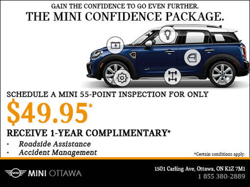 The MINI Confidence Package