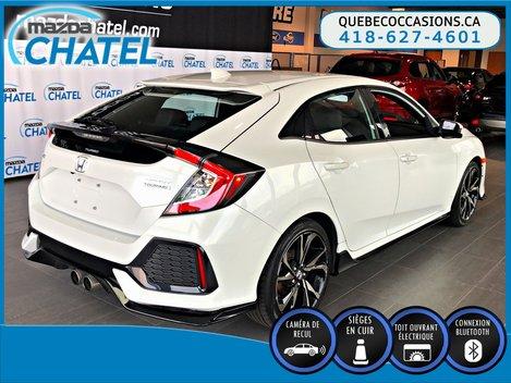2017 Honda Civic Hatchback SPORT - CUIR - TOIT OUVRANT