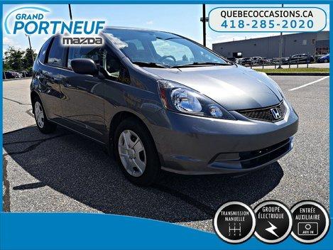 2013 Honda Fit DX - MANUELLE - LECTEUR CD - GROUPE ÉLECTRIQUE