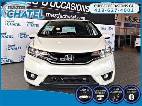 Honda Fit EX - TOIT OUVRANT - CAMÉRA - SIÈGES CHAUFFANTS 2017