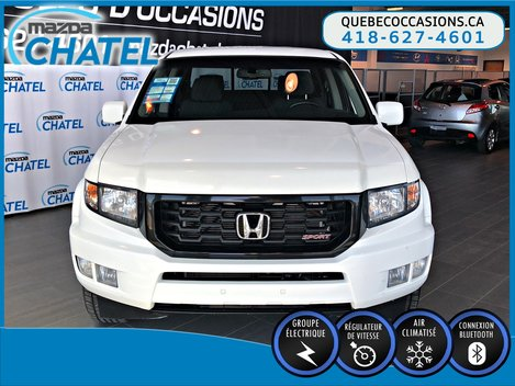 Honda Ridgeline SPORT 4X4 - V6 3,5L - BAS KILOMÉTRAGE 2012