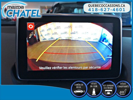 Mazda CX-3 GT AWD - CUIR - TOIT OUVRANT - SIEGES CHAUFFANTS 2016