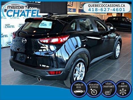 Mazda CX-3 GS AWD - CAMÉRA - SIÈGES CHAUFFANTS - CRUISE 2017