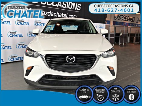 Mazda CX-3 GX - CRUISE - BLUETOOTH - CAMÉRA 2017