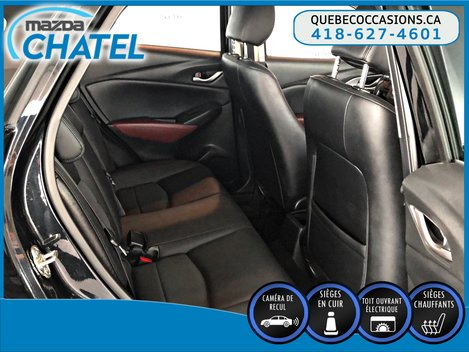 Mazda CX-3 GS-L AWD - CUIR - TOIT OUVRANT - CAMÉRA 2017