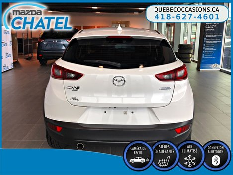 Mazda CX-3 GS AWD - SIÈGES CHAUFFANTS - CAMÉRA - BLUETOOTH 2018