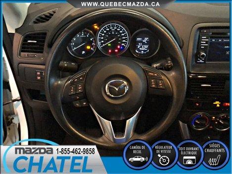 Mazda CX-5 GS AWD - CAMÉRA - SIEGES CHAUFFANTS - TOIT OUVRANT 2015