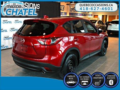 Mazda CX-5 GS AWD - SIEGES CHAUFFANTS - TOIT OUVRANT - CAMÉRA 2015