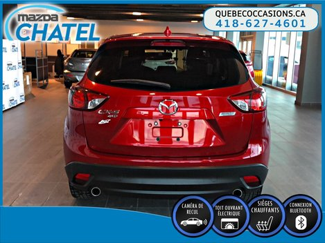2015 Mazda CX-5 GS AWD - SIEGES CHAUFFANTS - TOIT OUVRANT - CAMÉRA