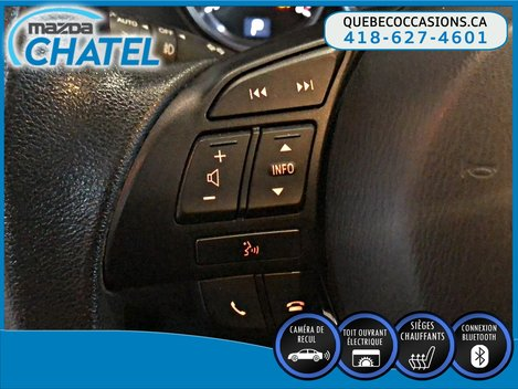 2015 Mazda CX-5 GS AWD - TOIT OUVRANT - SIEGES CHAUFFANTS - CAMÉRA