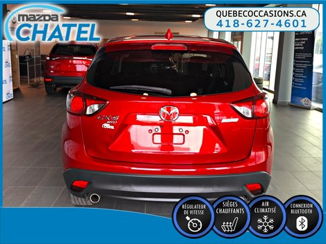 2015 Mazda CX-5 GS AWD - TOIT OUVRANT - SIÈGES CHAUFFANTS - A/C
