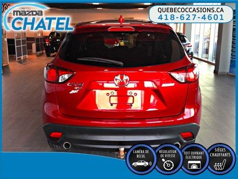 2015 Mazda CX-5 GS AWD - TOIT OUVRANT - SIÈGES CHAUFFANTS - CAMÉRA