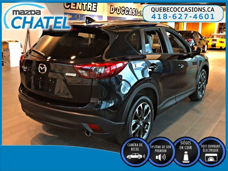 Mazda CX-5 GT AWD - CUIR - TOIT OUVRANT - SIEGES CHAUFFANTS 2016