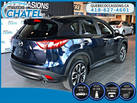 2016 Mazda CX-5 GT AWD - CUIR - TOIT OUVRANT - GPS